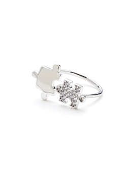 HAPPY JIGSAW RING