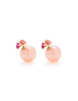 CHERRY BLOSSOM DUO EARRINGS