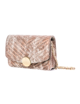 AVA GOLD ABSTRACT BAG
