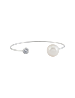 VENUS RHODIUM BANGLE
