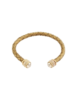 TIMELESS GOLD WEAVED BANGLE