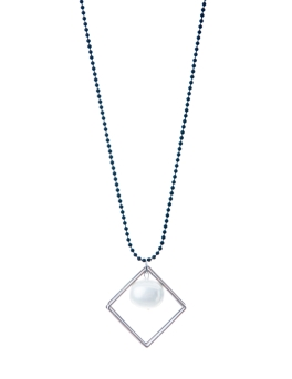 STELLA SQUARE PENDANT NECKLACE