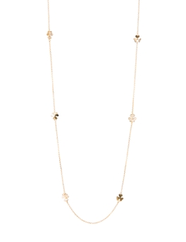 HAPPY FLORAL GOLD NECKLACE