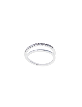DUO BAND CRYSTAL RING (MEDIUM)