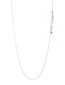 MONO FRESHWATER PEARL NECKLACE