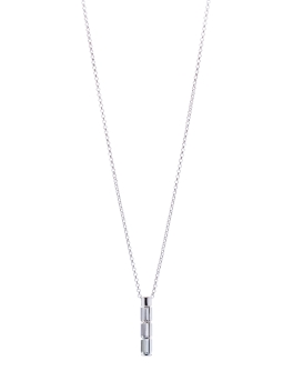 NINE RECTANGLE CRYSTALS NECKLACE