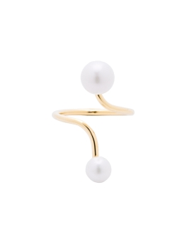 JESSICA PEARL GOLD RING