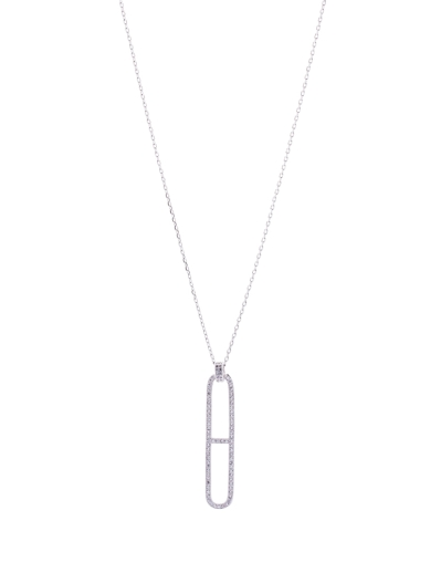 TIMELESS CZ PENDANT NECKLACE