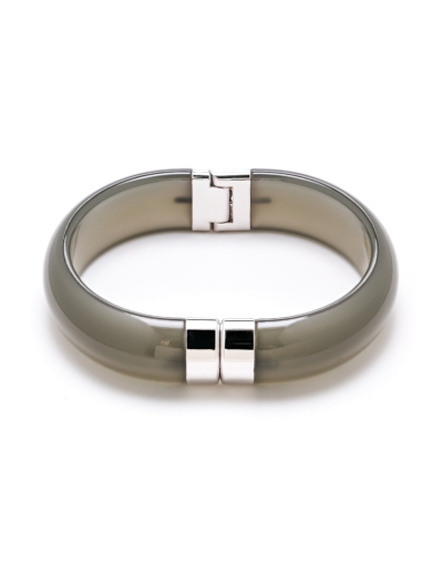 PAULA GREEN RHODIUM BANGLE