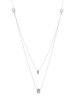 ZANN DUO CZ NECKLACE