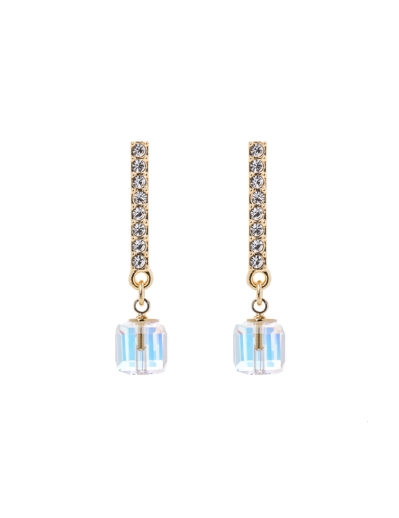 EXQUISITE CLEAR STONE EARRINGS
