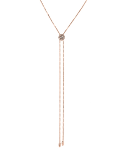 LUXE MINIMALIST ROSEGOLD NECKLACE