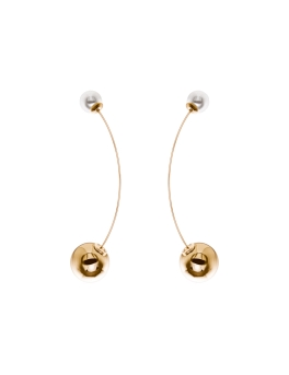 JULIETTE GOLD SPHERES EARRINGS