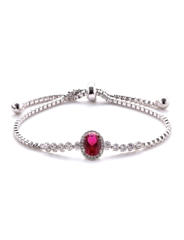 EXQUISITE RED STONE BRACELET