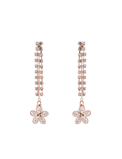 FLOWER DUO STRANDS RG EARRINGS
