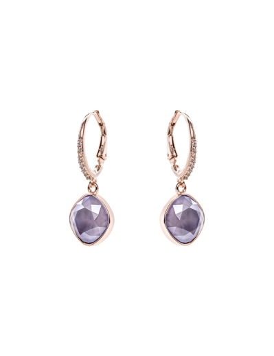 SWAROVSKI ELEMENTS LILAC EARRINGS