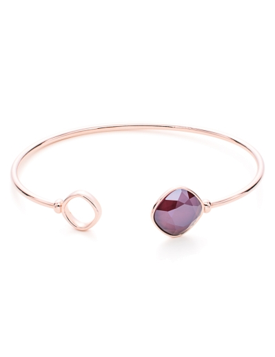 SWAROVSKI ELEMENTS ROSE BANGLE