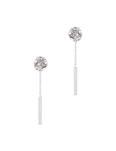 DANCING LIGHTS RHODIUM EARRINGS