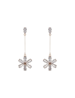SNOWFLAKES ROSEGOLD EARRINGS