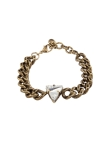 ANTIQUE GOLD CRYSTAL BRACELET