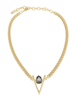 EDGY GOLD CHAIN NECKLACE