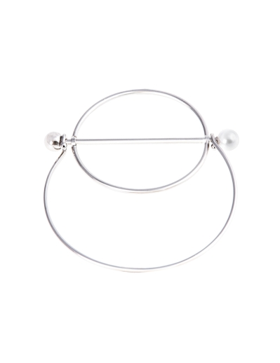 PLUTO RHODIUM BANGLE