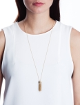 LION TASSEL GOLD NECKLACE