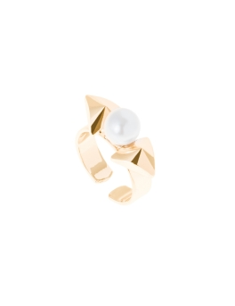 PRETTY BOW GOLD RING