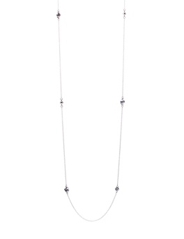 SILVER NIGHTS RHODIUM NECKLACE