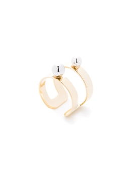 KEIRA DUO BAND GOLD RING
