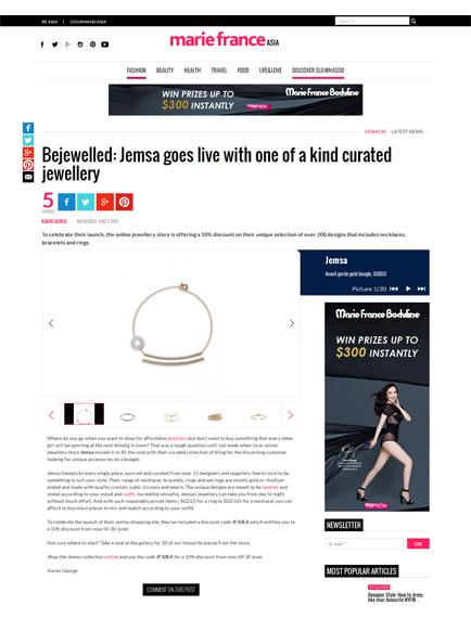 Bejewelled: Jemsa goes live with one of a kind curated jewellery